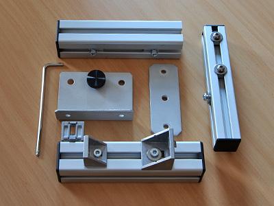 Einzelteile Nodalpunktadapter